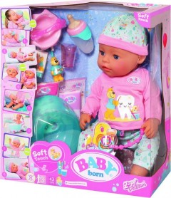 Baby Born Bath Soft Touch Girl 43Cm