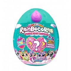 Rainbocorns-Plush-Sparkle Heart Surprise Series 2, Pdq 12Pcs