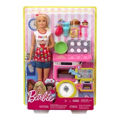 Barbie Bakery Chef Doll And Pl