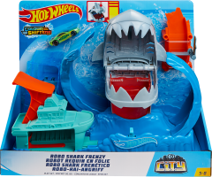 Hw City Robo Shark Frenzy