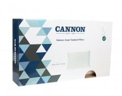 Cannon Memory Foam Stdrd Pillow 70X40+14