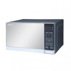 Sharp 20L solo microwave, mirror finish