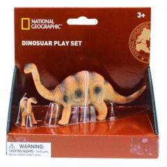 Natgeo Diplodocus Dinosaur Figurines 2 Pieces