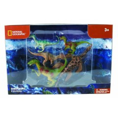 Natgeo Play Set With Dinosaurs Figurines 5 Pieces