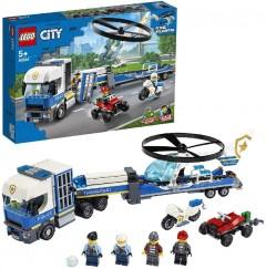 LEGO 60244 Police Helicopter Transport