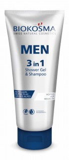 Biokosma Men 3In1 Shower Gel& Shampoo 200Ml - 15690
