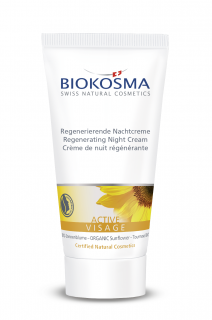 Biokosma  Active Regen. Night Cream 50Ml - 15391