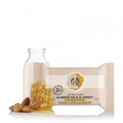 The Body Shop Almond Milk & Honey Cleansing Bar 100 G