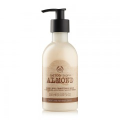 The Body Shop Almond Hand & Nail Conditioning Wash 250 Ml