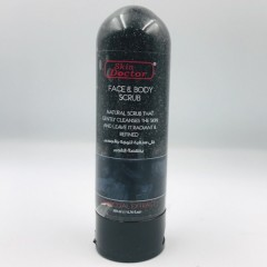 Skin Doctor Face & Body scrub 200ml Charcoal Extract