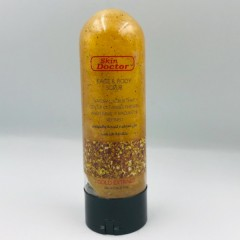 Skin Doctor Face & Body scrub 200ml Gold Extract