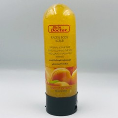 Skin Doctor Face & Body scrub 200ml Apricot Extract