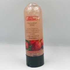 Skin Doctor Face & Body scrub 200ml Strawberry Extract