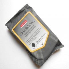 Purederm Charcoal Make-Up Remover Cleansing Towelettes