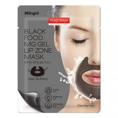 Purederm Black Food MG:GEL Lip Zone Mask