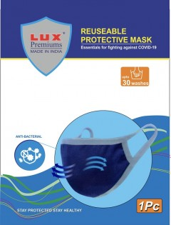 Lux Premium 2 layers Reusable protective mask - pack of 1