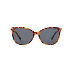 Dion Villard ladies sunglasses, Tortoise color, stainless steel material, Cat eye shape DVSGL1903D