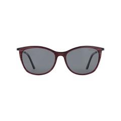 Dion Villard ladies sunglasses, Tortoise Red color, stainless steel \ acetate material, Cat eye shape DVSGL1909DR