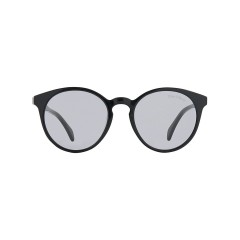 Dion Villard ladies sunglasses, Black color, acetate material, Round shape DVSGL1911B