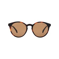 Dion Villard ladies sunglasses, Tortoise color, acetate material, Round shape DVSGL1913D