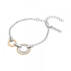 Police ladies bracelet Silver With Gold  P PJ 26334BSSG/01