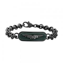 Police Logo Wing Bracelet For Men P PJ 26401BSULGR-03