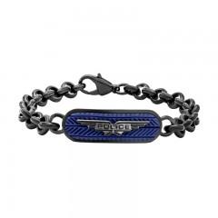 Police Mtallic Chain Bracelet P PJ 26401BSUN-01