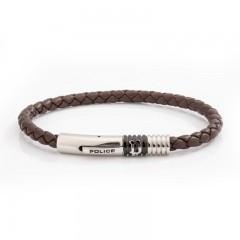 Police men's bracelet Brown P PJ 26430BLC/02
