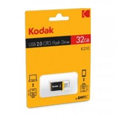 Kodak 32Gb Usb 2.0 Micro-Usb Otg Flash Drive K210