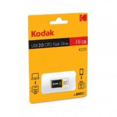 Kodak 16Gb Usb 2.0 Micro-Usb Otg Flash Drive K210