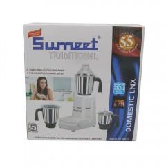 Sumeet 550Watt Traditional Domestic Lnx Mixer  With 3Jar