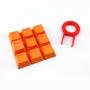 backlit translucent  orange Keycap for mechanical keyboards