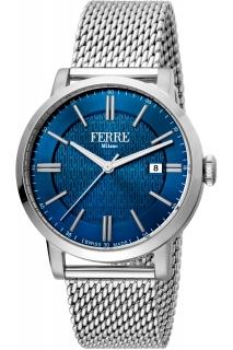 Ferrè Milano watch - GNT 3H SS BLU FM1G156M0051