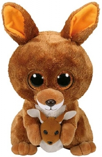 Beanie Boos Kangaroo Kipper Brwn Med 9In