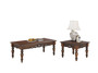 Coffee Table Set CT1233,CT1234 1+2, Hl Walnut