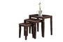 Nesting Table NT 6616,Dark Walnut