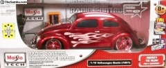 Maisto R/C- 1:10 Volkswagen Beetle - Red