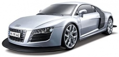 Maisto R-C- 1:10 Audi R8 V10 - Silver