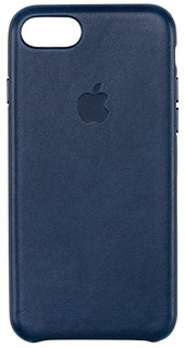 APPLE iPhone 7 Leather Case MIDNIGHT BLUE MMY32ZM/A