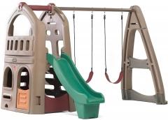 Np Playhouse Climber&Swing Ext