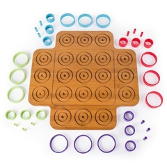 Spin Master Game Marbles Otrio Wood