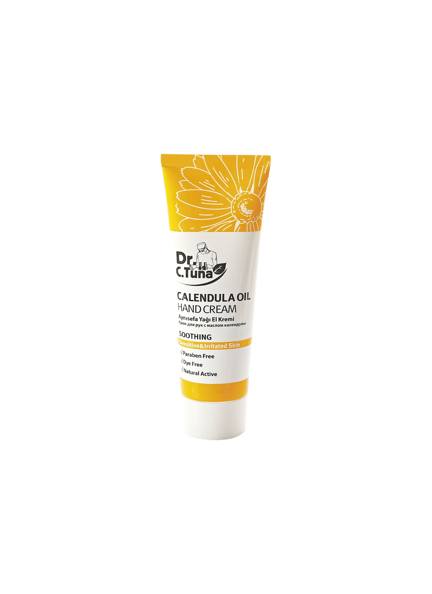 DR C TUNA CALENDULA HAND CREAM 75 ML