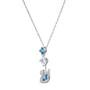 -5530625- Dazzling Swan:Necklace Y Anni