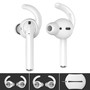 AHA STYLE  Premium Silicone Earhooks Airpods Case Clear Pt40