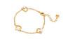 Aigner Bracelet GLD/STO/PEARL  M AJ670038