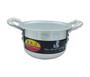 Aluminium cooking pot with lid