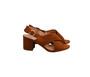 Andarina Ladies High heels 2.5'' - 36 Dark Brown