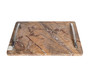 Forest Brown Marble Tray