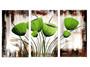 Green Plants Oil Painting 50x80cm