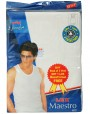 Lux Maestro Mens Vest Pack Of 3+(1 Pc Free) Size: 44